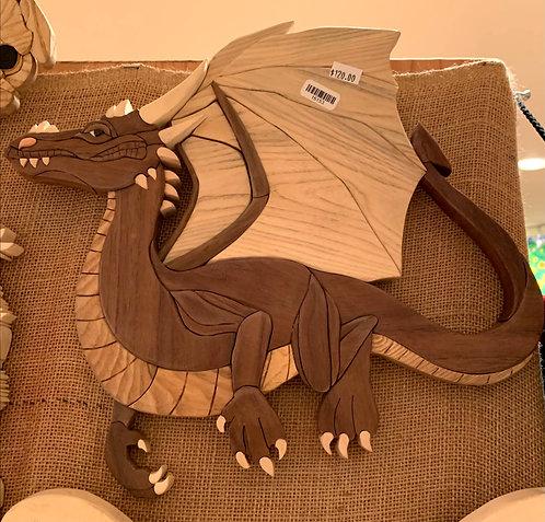 Harold's Intarsia Small dragon
