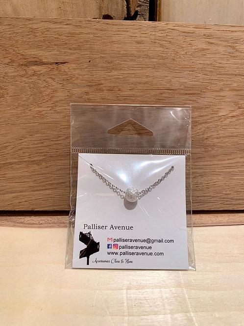 "Palliser Avenue Beaded Stardust Necklace 18"""
