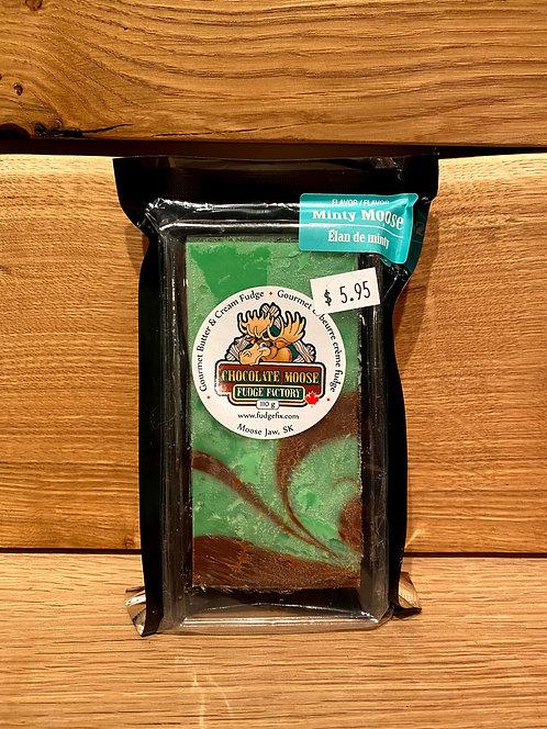 Chocolate Moose Fudge Minty Moose