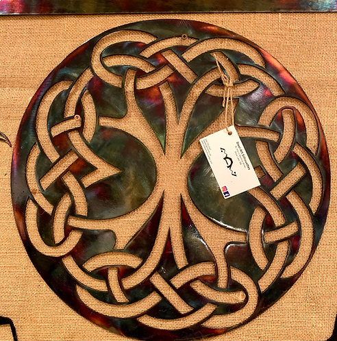 Steel Art Silhouettes Celtic Knot Acid