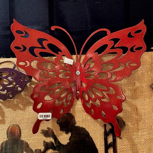 """Steel Art Silhouettes Butterfly 12"""""""