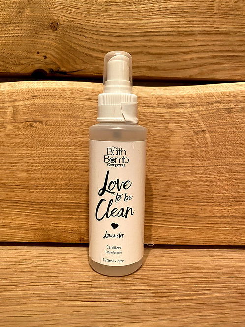 Love To Be Clean Sanitizer Spray Lavender 120ml