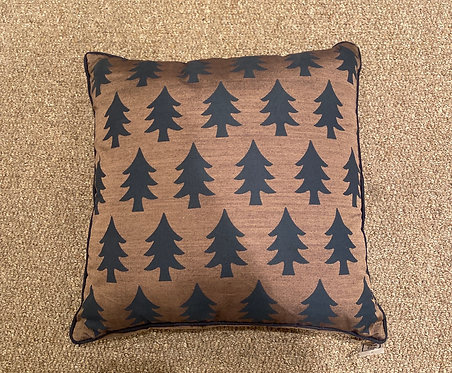 Cushion Vested Interest Brown Trees