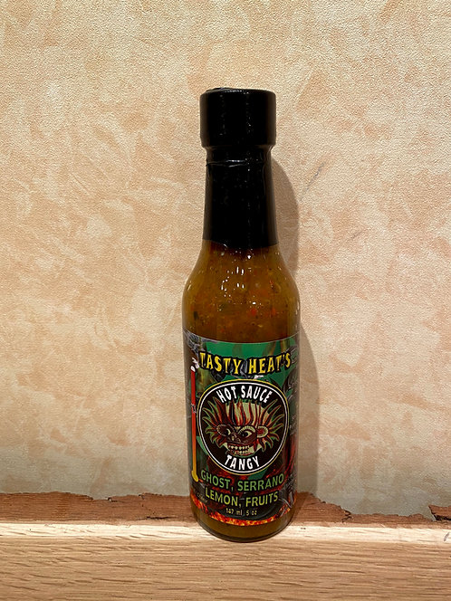 De Luca's Tasty Heat's Fire Devil Hot Sauce Tangy
