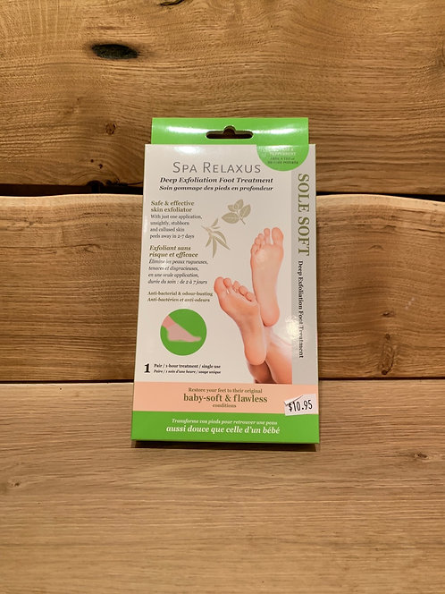 Sole Soft Deep Exfoliation Foot Treatment Tea Tree- Relaxus