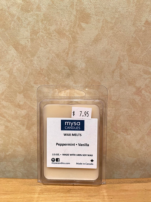 Mysa Wax Melts Peppermint Vanilla
