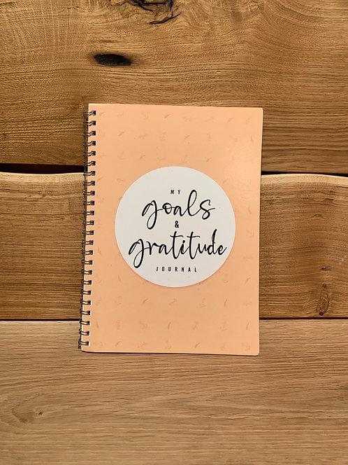 My Goals & Gratitude Journal