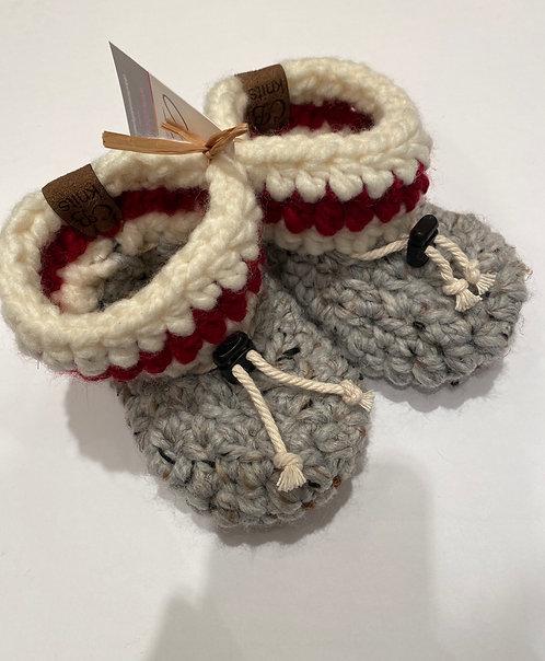 CB Knits Baby Slipper 6-12 Sock