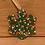 Thumbnail: Pegdots wood ornaments Snowflake