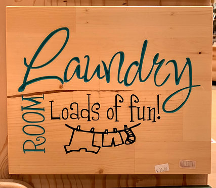 Two Old Farts Laundry Room