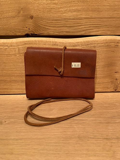 Debra Frances Leather Bound Journals Light Brown