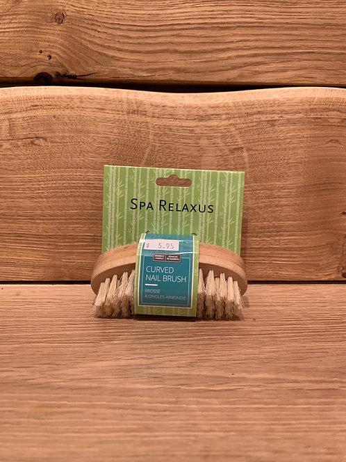 Bamboo Curved Nail Brush