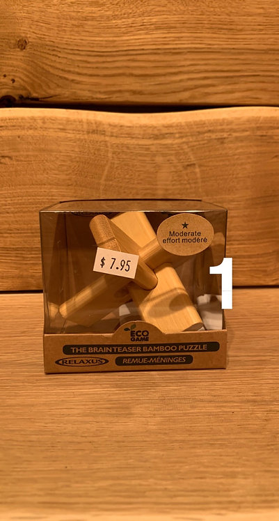 ECO BAMBOO PUZZLE 3D