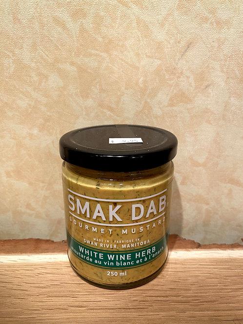 Smak Dab Mustard White Wine Herb