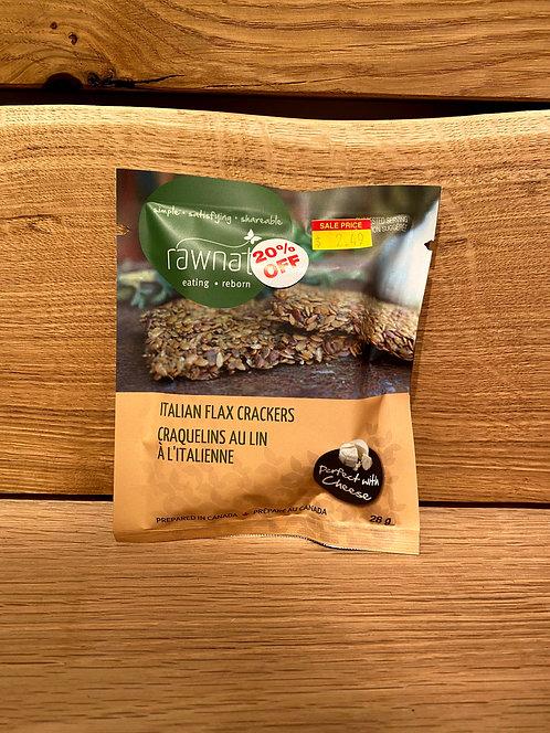 Rawnata Italian Flax Cracker