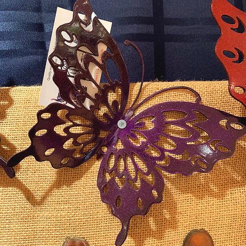 """Steel Art Silhouettes 8"""" Butterfly"""