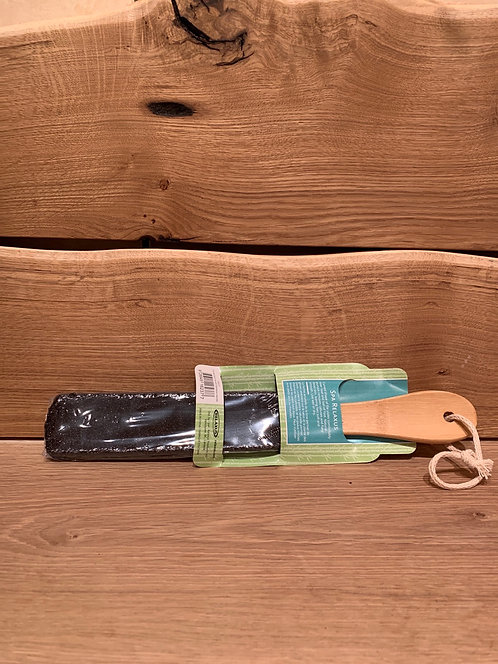 Bamboo Curved Foot File