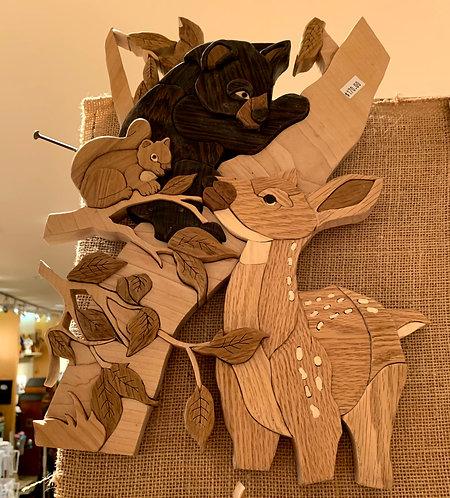 Harold's Intarsia Bear/Deer/Squirrel