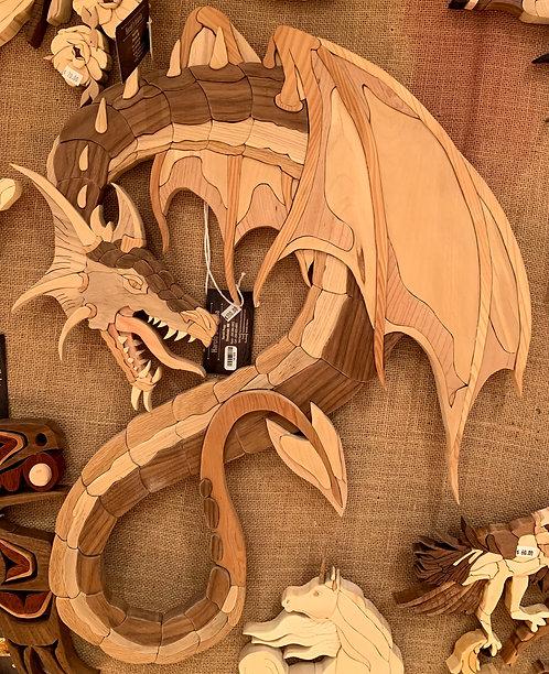 Harold's Intarsia Large Dragon