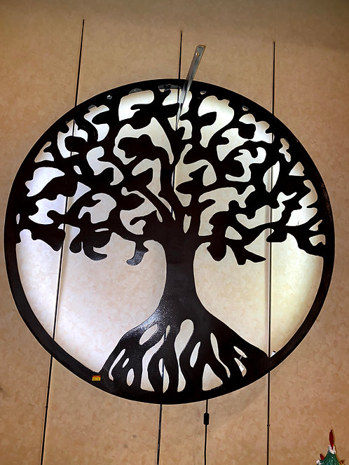 Iron Age Welding 3ft Tree of Life with Lights
