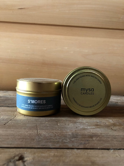Mysa S'mores Tin Candle