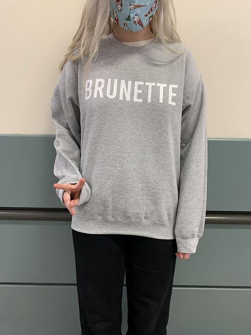 Brunette Crewneck