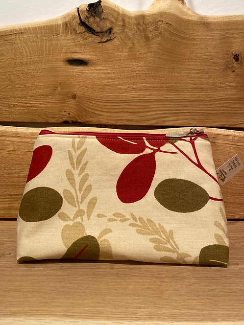 """Pickle Patch Zippered Pouches 9"""""""