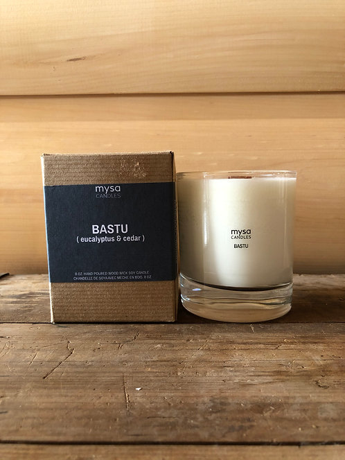 Mysa Bastu Glass Candle