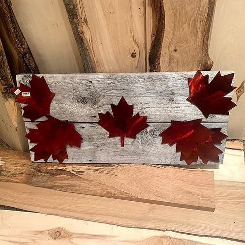 Iron Age Maple Leaf Flag