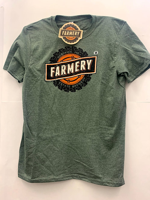 Farmery Heathered Green T-shirt