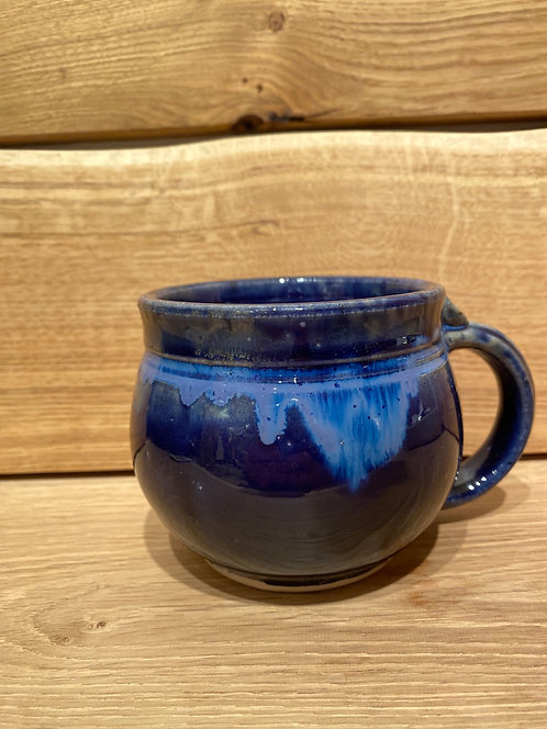 Deb Brown Short/Chubby Noxzema Blue Mugs