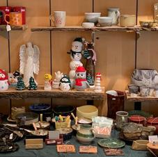 Peg Dots, Britta Spiring, Debbie Brand Ceramics, Rachel Kroeker, Deb's Claze, Munro Pottery