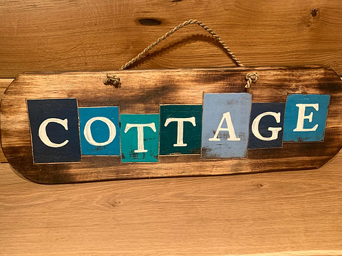 Sign- Cottage