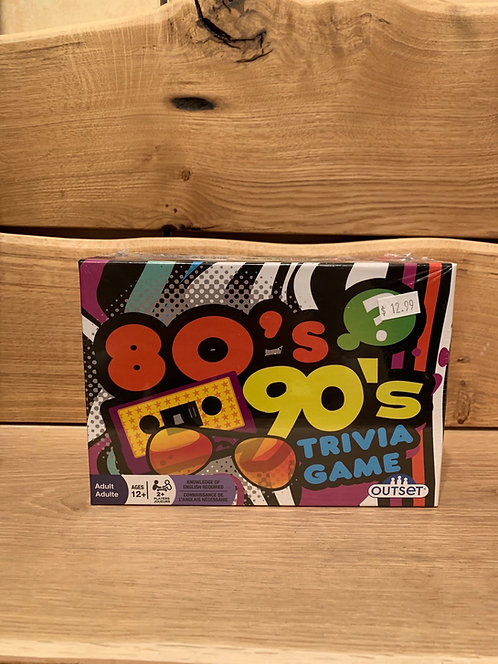 80s 90s Trivia Game Small
