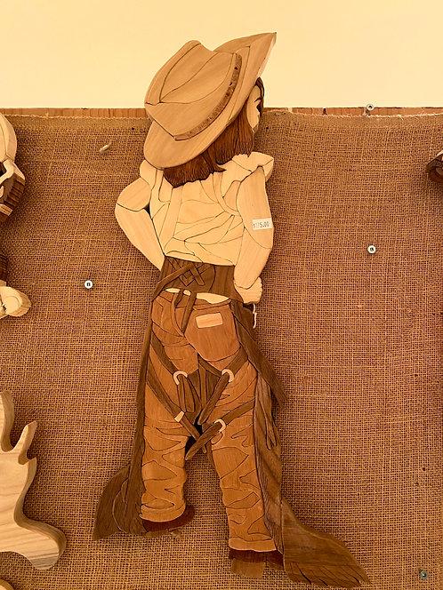 Harold's Intarsia Sassy Cowgirl