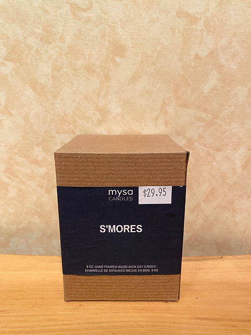 Mysa S'mores Glass Candle