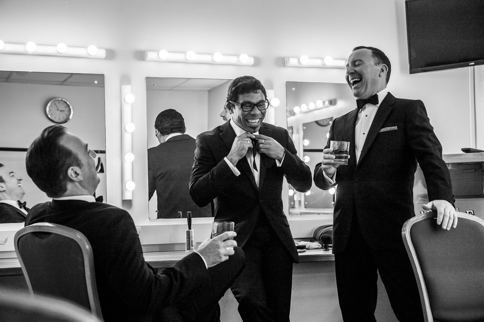 The Rat Pack Swingin' in the Sands