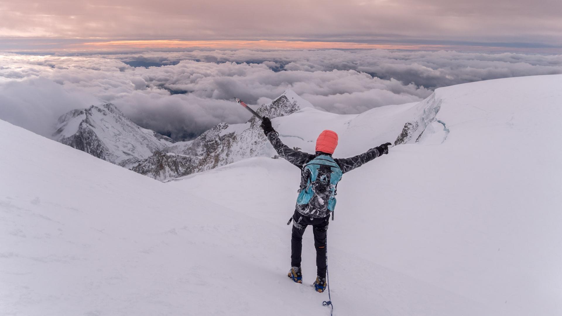 Mont Blanc en Hivernal