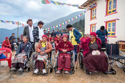Actions humanitaires de Dawa Sherpa au Népal