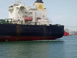 Urgent visit on board crude oil tanker