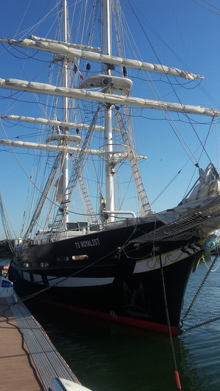 TS Royalist calling in Le Havre for a few days