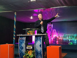 Pastor Tony in Africa