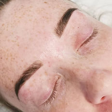 Healed ombre brows, machine method, pmu