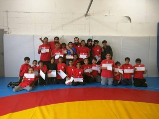 Junior Wrestling Grading - June 2015