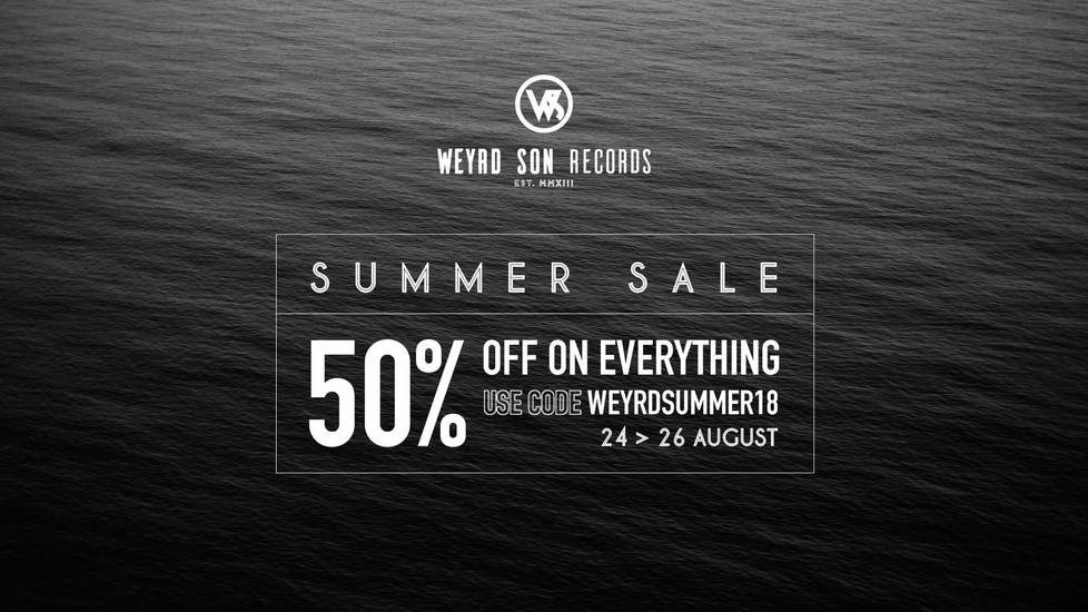 SUMMER SALE - 50% OFF EVERYTHING ON OUR STORE