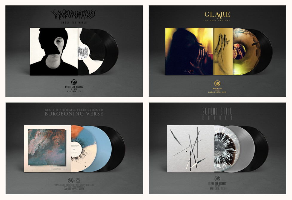 INTRODUCING WEYRD SON RECORDS' FOUR NEW SPRING RELEASES
