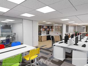 Novo Escritório AKMX: Interatividade e eficiência entre departamentos