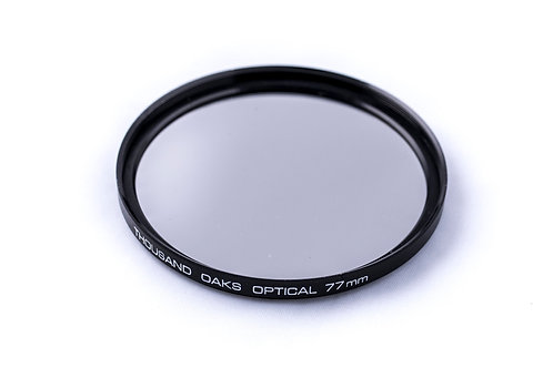 Thousand Oaks Thread-On SolarLite Film Solar Filter for Camera Lens with 77mm Filter Thread # 77-T
