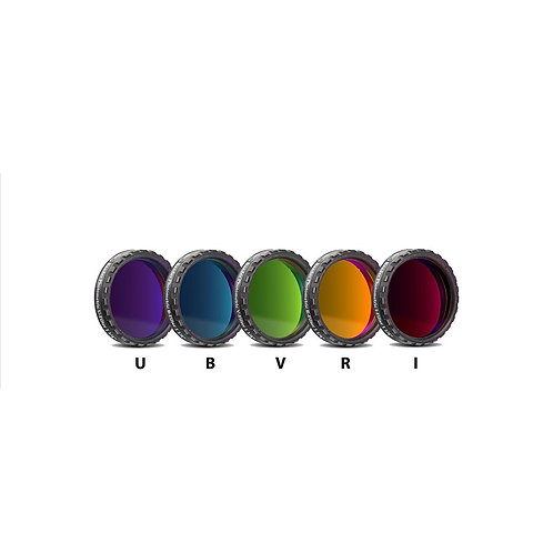 "Baader UBVRI Photometric 5-Filter Set - 1.25"" # FUBVRI-1 2459440"