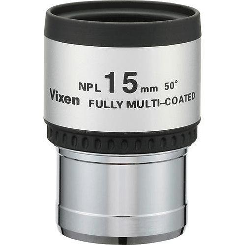 """Vixen Optics NPL Plossl 15mm Eyepiece (1.25"""")"""